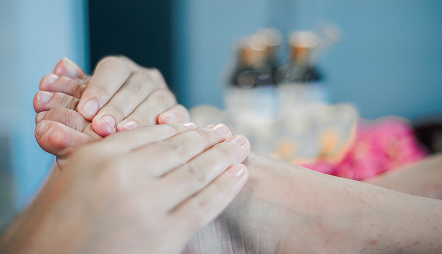 Jaens Spa Ubud Treatment Foot Reflexology