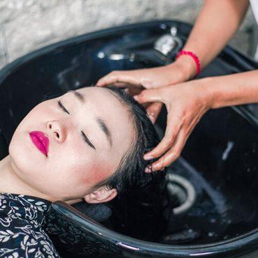 Jaens Spa Ubud Treatment Hair Wash