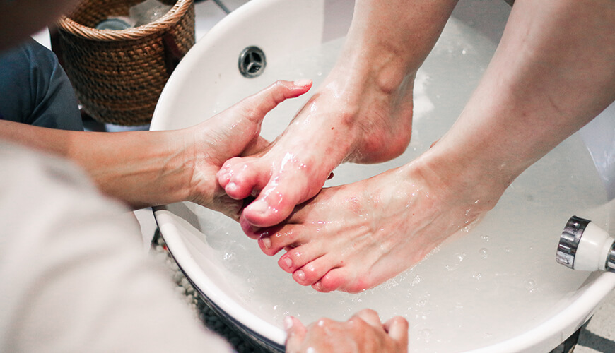 Jaens Spa Ubud Treatment Pedicure & Manicure